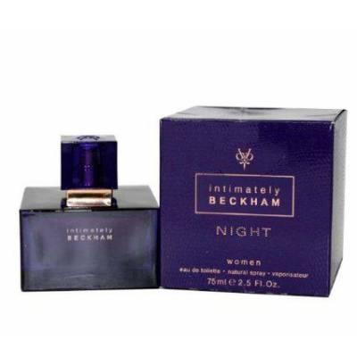 Женская парфюмерия Туалетная вода David Beckham Intimately Night 75ml (лицензия)