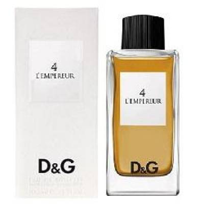 Мужская парфюмерия Туалетная вода D&G Anthology 4 LEmpereur 100ml (лицензия)