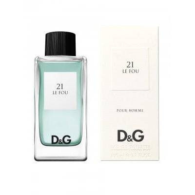Женская парфюмерия Туалетная вода D&G Anthology Le Fou 21 100ml (лицензия)