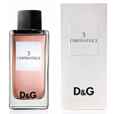 Женская парфюмерия Туалетная вода D&G Anthology LImperatrice 3 100ml (лицензия)