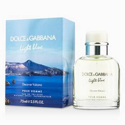 Мужская парфюмерия Туалетная вода D&G Light Blue Discover Vulcano 125ml (лицензия)