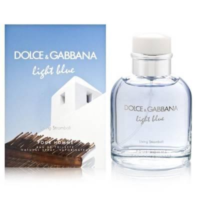 Мужская парфюмерия Туалетная вода D&G Light Blue Living Stromboli 125ml (лицензия)