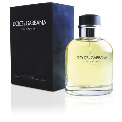 Мужская парфюмерия Туалетная вода D&G Pour Homme 75ml (лицензия)