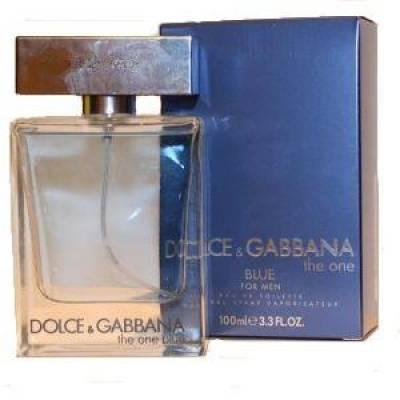 Мужская парфюмерия Туалетная вода D&G The One Blue Man 100ml (лицензия)