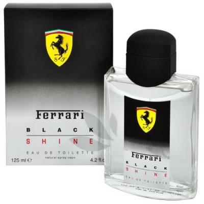 Мужская парфюмерия Туалетная вода Ferrari Black Shine 125ml (лицензия)