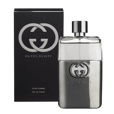 Мужская парфюмерия Туалетная вода Gucci Guilty Pour Homme 90ml (лицензия)