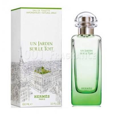 Женская парфюмерия Туалетная вода Hermes Un Jardin Sur le Toit 100ml (лицензия)