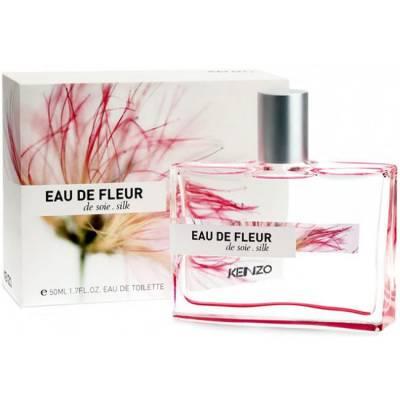 Женская парфюмерия Туалетная вода Kenzo Eau de Fleur de Soie Silk 50ml (тестер)