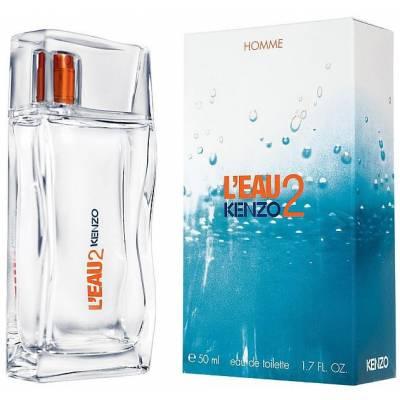 Мужская парфюмерия Туалетная вода Kenzo LEau 2 Pour Homme 100ml (лицензия)