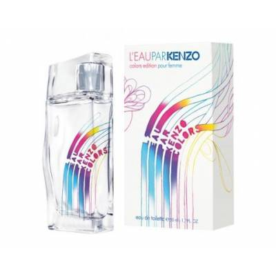 Женская парфюмерия Туалетная вода Kenzo LEau Par Colors Pour Femme 100ml (лицензия)