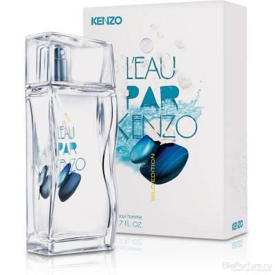 Мужская парфюмерия Туалетная вода Kenzo LEau Par Pour Homme Wild Edition 50ml (лицензия)