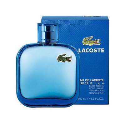 Мужская парфюмерия Туалетная вода Lacoste Eau De L.12.12. Bleu 100ml (лицензия)