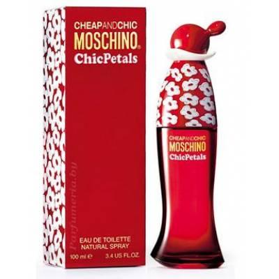 Женская парфюмерия Туалетная вода Moschino Cheap and Chic Chic Petals 100ml (лицензия)