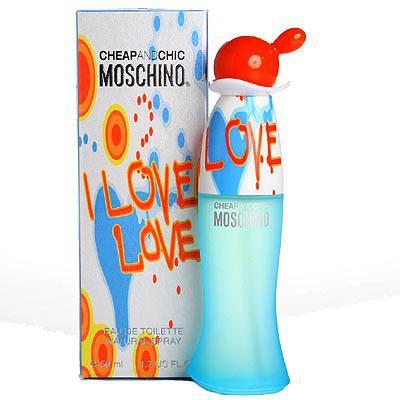 Женская парфюмерия Туалетная вода Moshino Cheap & Chic I Love Love 100ml (лицензия)