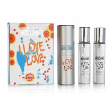 Туалетная вода Moshino Cheap & Chic I Love Love Twist & Spray 3*15ml (лицензия)