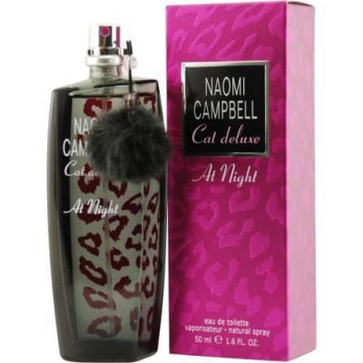 Женская парфюмерия Туалетная вода Naomi Campbell Cat Deluxe At Night 75ml (лицензия)