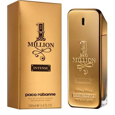 Мужская парфюмерия Туалетная вода Paco Rabanne 1 Million Intense 100ml (лицензия)