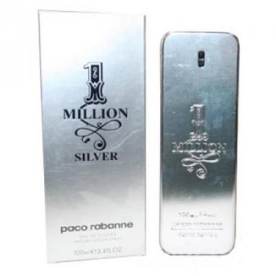 Мужская парфюмерия Туалетная вода Paco Rabanne 1 Million Silver 100ml (лицензия)