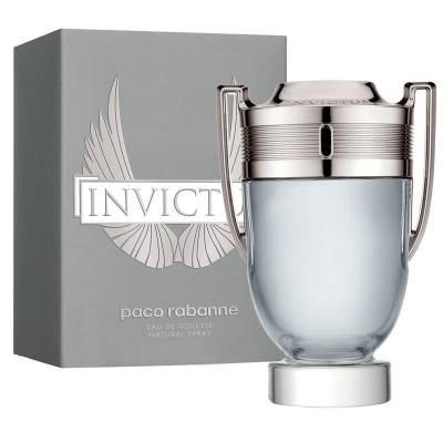 Мужская парфюмерия Туалетная вода Paco Rabanne Invictus 100ml (лицензия)