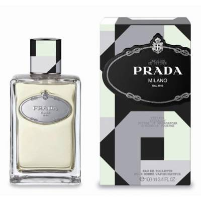 Мужская парфюмерия Туалетная вода Prada Infusion De Vetiver 100ml (лицензия)