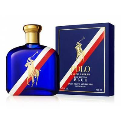 Мужская парфюмерия Туалетная вода Ralph Lauren Polo Red White & Blue 125ml (лицензия)