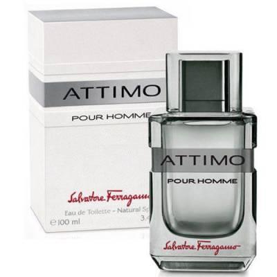 Мужская парфюмерия Туалетная вода Salvatore Ferragamo Attimo Pour Homme 100ml (лицензия)