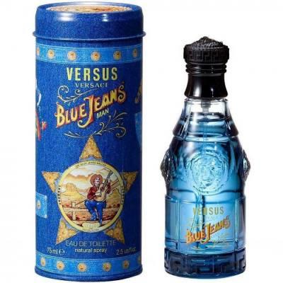 Мужская парфюмерия Туалетная вода Versace Blue Jeans 75ml (тестер)