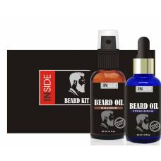 Масло для бороды с феромонами Inside Beard Oil (набор)